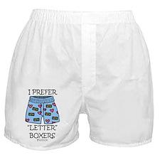 """""""Letter"""" Boxer Boxer Shorts"""