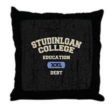 studinloan-BUT Throw Pillow