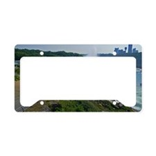 Falls and Canada License Plate Holder