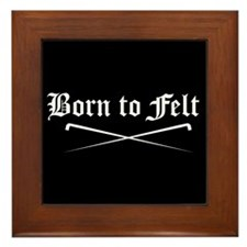 Felting - Born to Felt Framed Tile