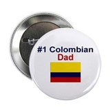 Colombian #1 Dad Button