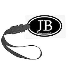 JB.Jacksonville Beach oval.bl.m Luggage Tag