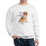 I Love Beagle Jumper