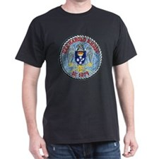 uss harold e. holt de patch transpare T-Shirt
