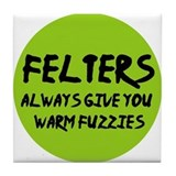 Felting - Felters Warm Fuzzie Tile Coaster