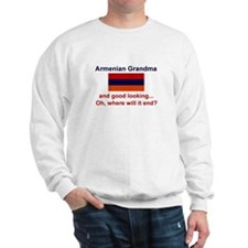 Gd Lkg Armenian Grandma Sweatshirt