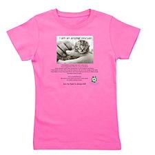 I am an Animal Rescuer Girl's Tee