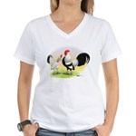 Dutch Bantams Women's V-Neck T-Shirt