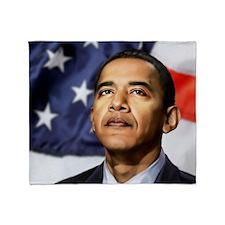 Obama Throw Blanket