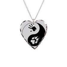Wolf Therian Ying Yang Necklace