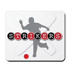 Strikers White Mousepad
