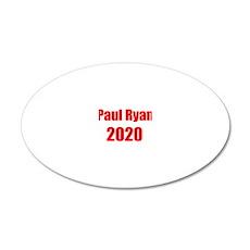 Paul Ryan 2020 20x12 Oval Wall Decal