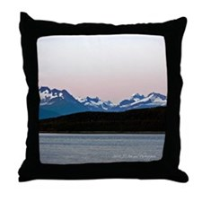 Skagway Sunset Throw Pillow