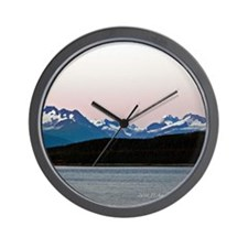 Skagway Sunset Wall Clock