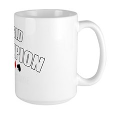World Champ team solitaire white Coffee Mug