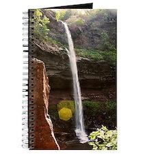 postcard waterfall Journal