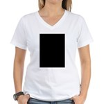 Blogger's Cycle Women's V-Neck T-Shirt