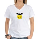 Moonbat Women's V-Neck T-Shirt