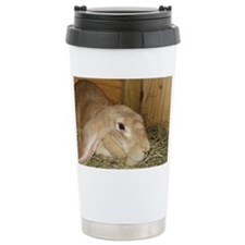 English Lop Ceramic Travel Mug
