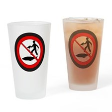 Stop Shark Finning Drinking Glass