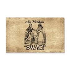 Mr Wickham Swag Car Magnet 20 x 12