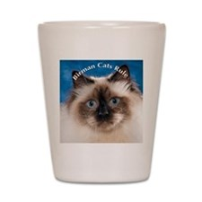 Birman Cat Magnet Shot Glass