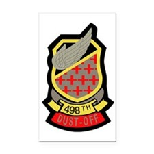 498th Medical Company Rectangle Car Magnet