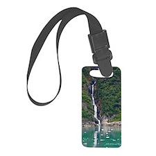 Glacier Waterfall Luggage Tag