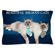 Birman Cat Calendar Pillow Case