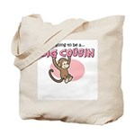 Big Cousin to be (Monkey) Tote Bag