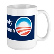 Old White Lady for Barack Obama Mug