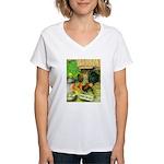 Chicks For Sale Women's V-Neck T-Shirt