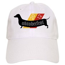 Oktoberfest Wiener Dog Baseball Cap