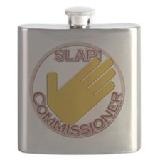 Slap Commissioner Flask