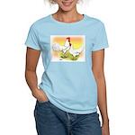 White Leghorn Chickens Women's Light T-Shirt