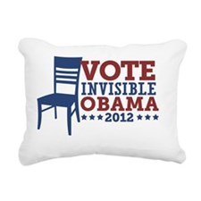 Vote Invisible Obama 201 Rectangular Canvas Pillow