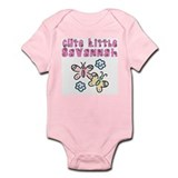 Cute Little Savannah Infant Bodysuit