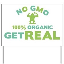 NO GMO Yard Sign