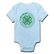 Irish Knot Work Shamrock Infant Bodysuit