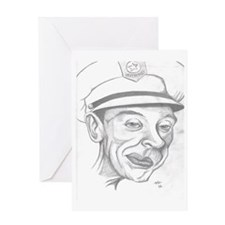 Barney Fife Greeting Card