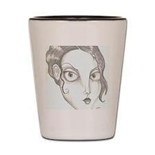 Gothic Girl Shot Glass