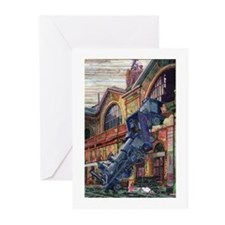 Cute Artful Greeting Cards (Pk of 10)
