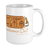What Would Tutankhamun Do? Mug/white
