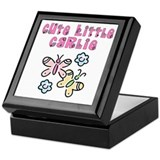 Cute Little Carlie Keepsake Box