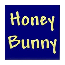 Honey Bunny Tile Coaster