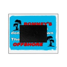 Romneys Tax Cut Dont Trickle Down Picture Frame