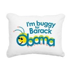 Buggy for Barck Rectangular Canvas Pillow