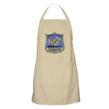 uss patrick henry patch transparent Apron