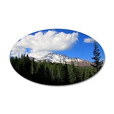 Mount Shasta 12 Wall Decal