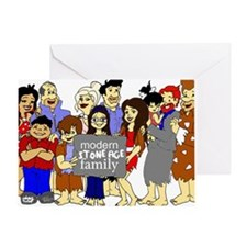 ModernStoneageFamily Greeting Card